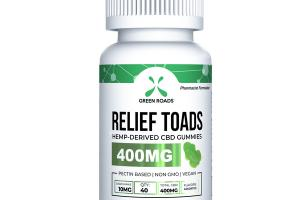 RELIEF TOADS HEMP-DERIVED CBD GUMMIES