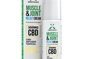 MUSCLE & JOINT RELIEF CREAM 300MG CBD INFUSED TOPICAL PROPRIETARY BLEND