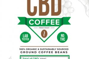FRESH ROAST CBD GROUND COFFEE BEANS