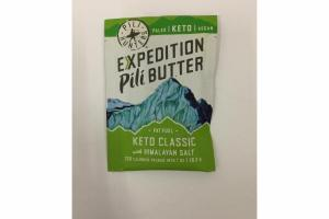 EXPEDITION PILI BUTTER KETO CLASSIC WITH HIMALAYAN SALT