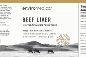 BEEF LIVER WHOLE FOOD NUTRITIONAL SUPPORT DIETARY SUPPLEMENT