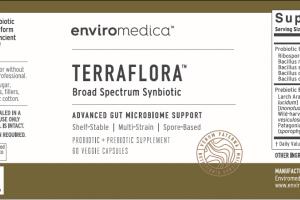 BROAD SPECTRUM SYNBIOTIC ADVANCED GUT MICROBIOME SUPPORT PROBIOTIC + PREBIOTIC SUPPLEMENT VEGGIE CAPSULES