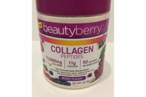 BERRY COLLAGEN PEPTIDES DIETARY SUPPLEMENT