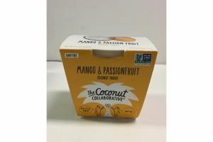 MANGO & PASSIONFRUIT COCONUT YOGURT