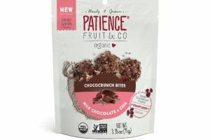 UNSWEETENED MILK CHOCOLATE & CHIA CHOCOCRUNCH BITES