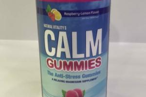 THE ANTI-STRESS CALM DUMMIES DIETARY SUPPLEMENT, RASPBERRY-LEMON FLAVOR
