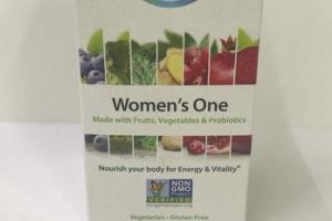 WOMEN'S ONE MULTIVITAMIN SUPPLEMENT VEGETARIAN TABLETS