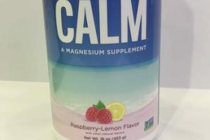 RASPBERRY-LEMON FLAVOR CALM THE ANTI-STRESS DRINK MIX A MAGNESIUM SUPPLEMENT