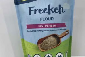 HIGH IN FIBER FREEKEH FLOUR