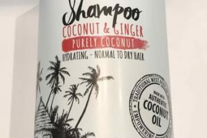 HYDRATING - NORMAL TO DRY HAIR PURELY, COCONUT & GINGER SHAMPOO
