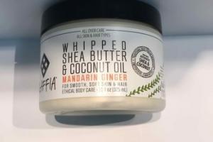 WHIPPED SHEA BUTTER & COCONUT OIL, MANDARIN GINGER