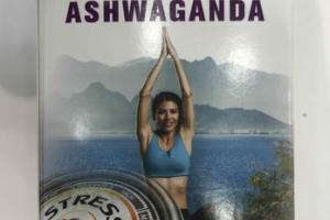 STRESS WELLNESS WITH ASHWAGANDA DIETARY SUPPLEMENT VEGETARIAN CAPSULES