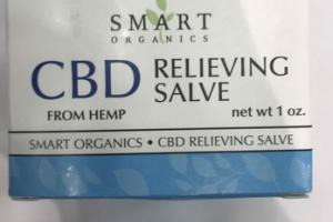 CBD FROM HEMP RELIEVING SALVE