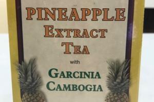 PINEAPPLE EXTRACT TEA WITH GARCINIA CAMBOGIA HERBAL SUPPLEMENT