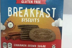 CINNAMON BROWN SUGAR GLUTEN FREE BREAKFAST BISCUITS