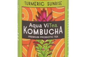 TURMERIC SUNRISE KOMBUCHA PREMIUM PROBIOTIC TEA