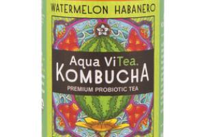WATERMELON HABANERO KOMBUCHA PREMIUM PROBIOTIC TEA