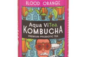 BLOOD ORANGE KOMBUCHA PREMIUM PROBIOTIC TEA
