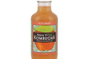 PEACHMINT KOMBUCHA PREMIUM PROBIOTIC TEA