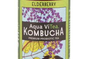 ELDERBERRY KOMBUCHA PREMIUM PROBIOTIC TEA