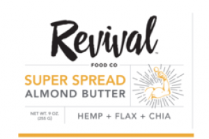 HEMP + FLAX + CHIA SUPER SPREAD ALMOND BUTTER