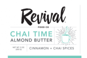 CINNAMON + CHAI SPICES CHAI TIME ALMOND BUTTER
