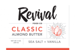 SEA SALT + VANILLA CLASSIC ALMOND BUTTER