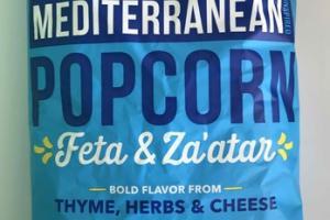 FETA & ZA'ATAR MEDITERRANEAN INSPIRED POPCORN