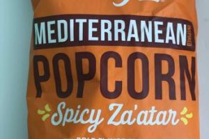 SPICY ZA'ATAR INSPIRED MEDITERRANEAN POPCORN