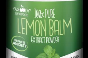100% PURE LEMON BALM EXTRACT POWDER