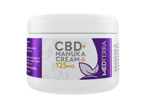 CBD 125MG + MANUKA CREAM