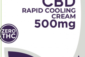CBD RAPID COOLING CREAM 500MG