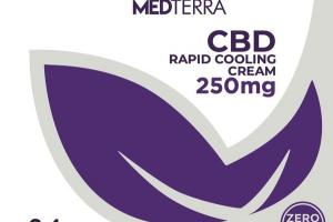 CBD RAPID COOLING CREAM 250MG
