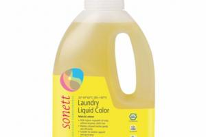 LAUNDRY LIQUID COLOR, MINT & LEMON