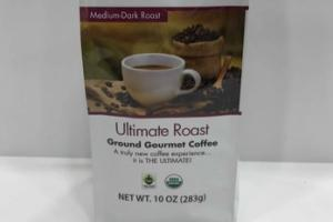 ORGANIC ULTIMATE MEDIUM-DARK ROAST GROUND GOURMET COFFEE