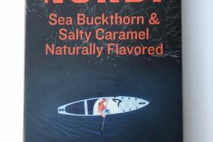 SEA BUCKTHORN & SALTY CARAMEL DARK CHOCOLATE