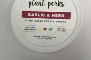 GARLIC & HERB PLANT-BASED CHEEZE SPREAD