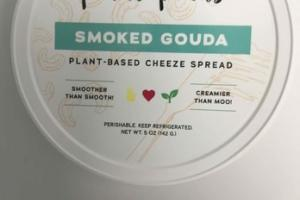 SMOKED GOUDA PLANT - BASED CHEEZE SPREAD