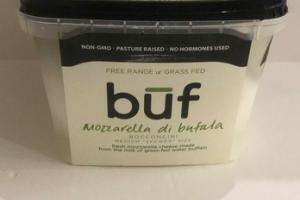 FRESH MOZZARELLA CHEESE FROM THE MILK OF GRASS-FED BUFFALO