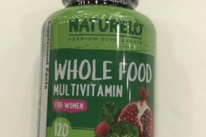 WHOLE FOOD MULTIVITAMIN FOR WOMEN ENERGY, IMMUNITY, & BONE HEALTH DIETARY SUPPLEMENT VEGETARIAN CAPSULES