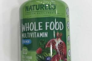WHOLE FOOD MULTIVITAMIN VEGETARIAN DIETARY SUPPLEMENT CAPSULES