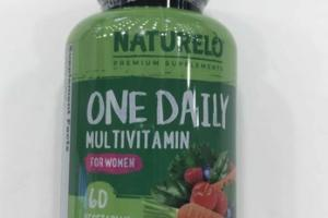 ONE DAILY MULTIVITAMIN FOR WOMEN DIETARY SUPPLEMENT VEGETARIAN CAPSULES