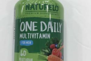 ONE DAIRY MULTIVITAMIN FOR MEN DIETARY SUPPLEMENT VEGETARIAN CAPSULES