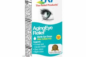 AGINGEYS RELIEF ADULT 40+ STERILE EYE DROPS HOMEOPATHIC