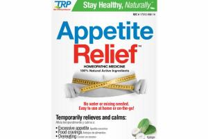 APPETITE RELIEF HOMEOPATHIC MEDICINE LOZENGES, POLAR MINT
