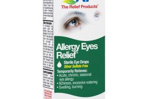 ALLERGY EYES RELIEF HOMEOPATHIC STERILE EYE DROPS