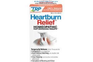 HEARTBURN RELIEF HOMEOPATHIC FAST DISSOLVING TABLETS