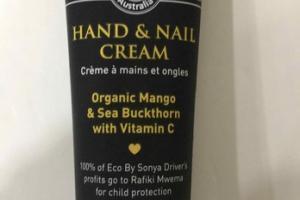 HAND & NAIL CREAM, ORGANIC MANGO & SEA BUCKTHORN WITH VITAMIN C