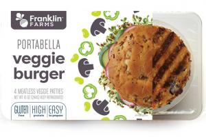 MEATLESS VEGGIE PORTABELLA VEGGIE BURGER PATTIES