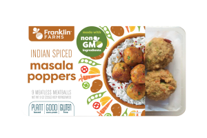 MEATLESS INDIAN SPICED MASALA POPPERS MEATBALLS